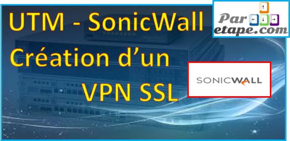 VPN SSL avec un SonicWall