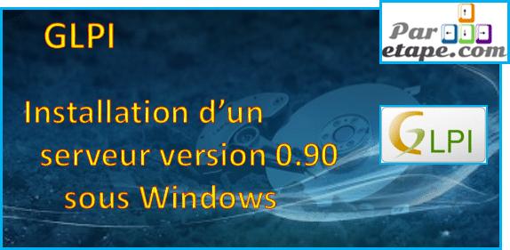 Installation d'un serveur GLPI 0.90.1